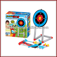 With big target kids toys bow and arrow