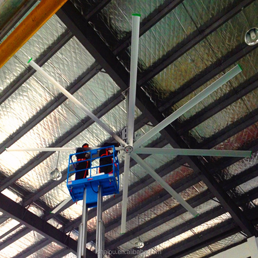 24ft Large Industrial Energy Saving Ceiling Fan
