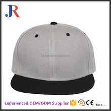 Factory custom acrylic flat brim plain printed brims snapback hats caps