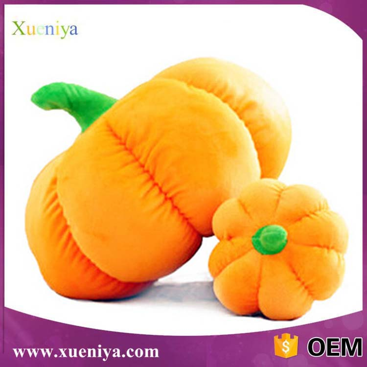 Wholesale Custom Soft Stuffed Halloween Pumpkin Decorations