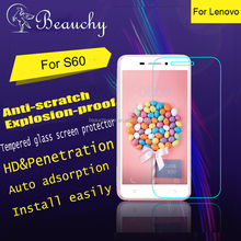 2016 Beauchy universal tempered glass screen protector for Lenovo S60 phone screen protector