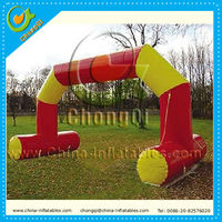 Cheap decorative inflatable advertising arches