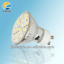 21 5050 SMD GU10 LED Spotlight Lamp 3w