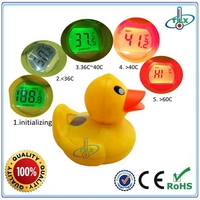 Top quality new products turtle baby bath thermometer card