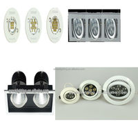 12w cob led downlight housing