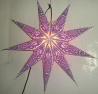paper star/ Christmas paper decoration star/ paper star lantern