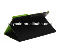 double color leather phone case,phone case with stand function,phone case with pocket for ipad5