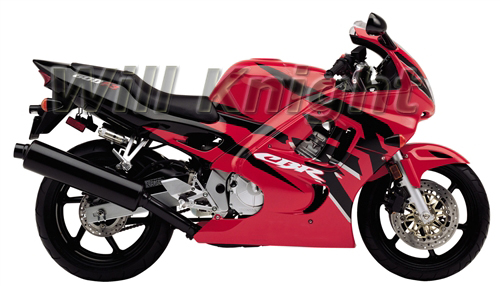 Motorcycle Body Fairing Kits for Honda CBR600 F3 97 98 CBR 600 1997 1998 Red Cover