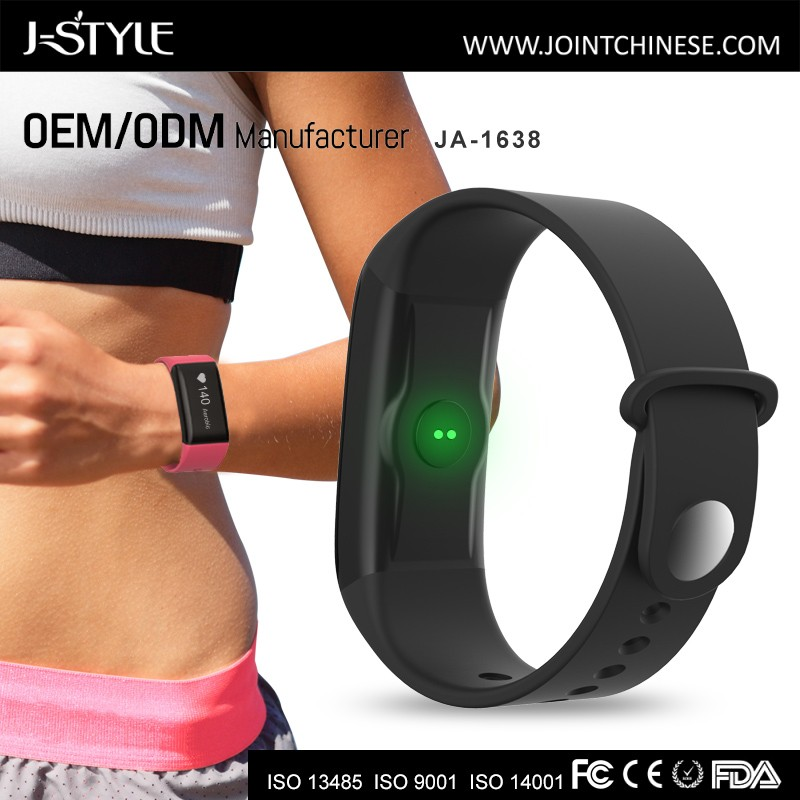 J-style sport wristband activity smart band fitbit charge hr band