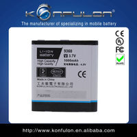 9360curve for blackberry lithium battery