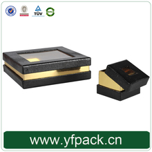 High Quality Customized PVC Window Paper Chocolate Packaging Boxes With Plastic Insert