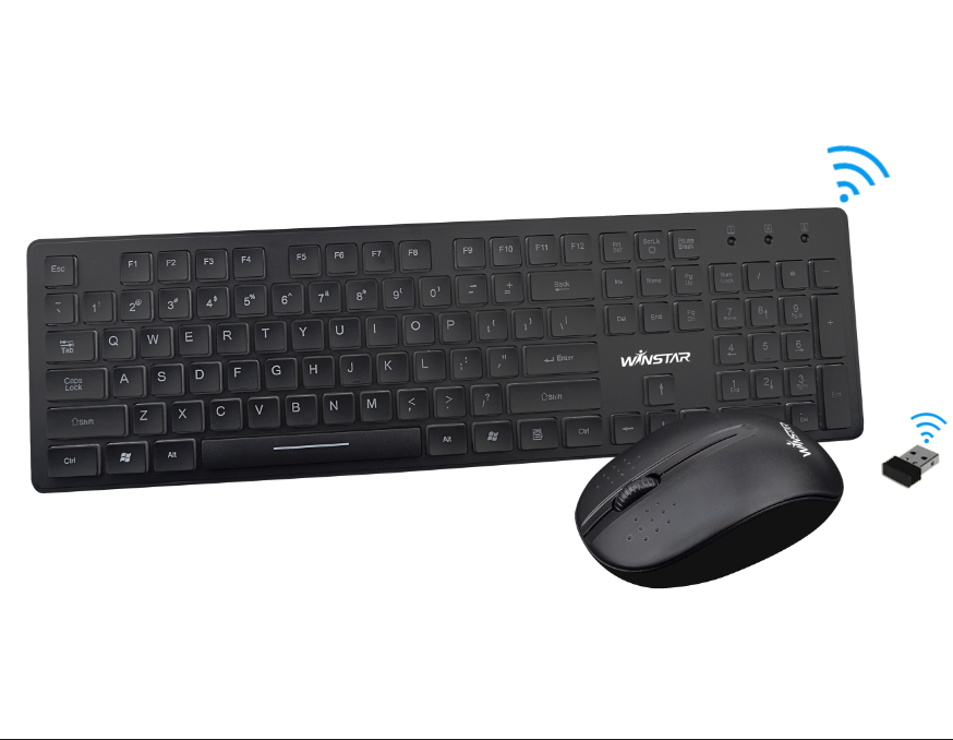High Quality Wireless Mouse and Keyboard Combo made in Shenzhen
