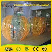 human bumper body football, bubble soccer for football game wholesale
