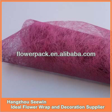 100% Polyester Nonwoven Non-woven Flower Wrapping Paper Roll/Floral Wraps And Floral Bouquet