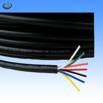 CSA AWM UL 2464 24 AWG multi-core electrical cable and wire