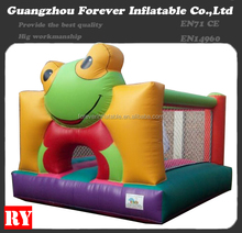 Attractive frog cheap inflatable bouncy castle for sale