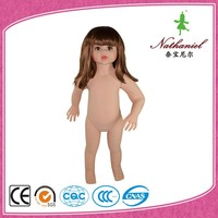 Cheap nude child realistic mannequin for sale