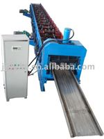 Dust collecting electrodes roll forming machine