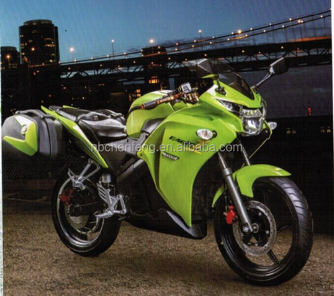 EEC 5000w sport electric motorcycle