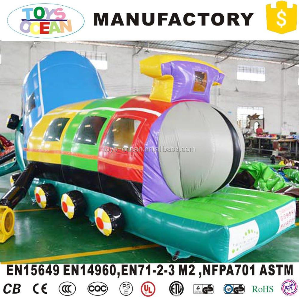 Giant Long Kids inflatable caterpillar tunnel obstacle course playground