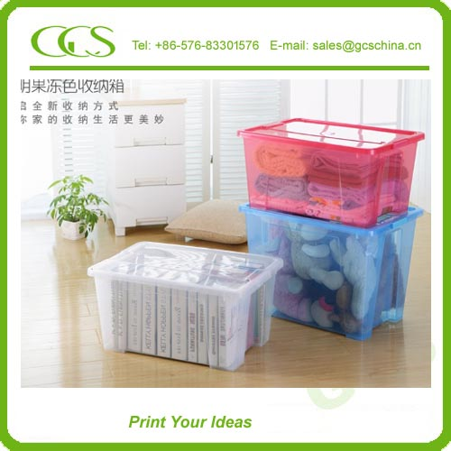 new arrival plastic enclosure box wall mounted plastic storage box with lid