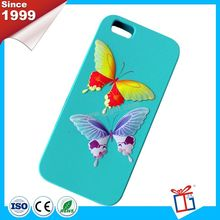 Fashionable brightly 3d cute silicone phone case