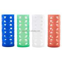 High quality customized logo silicone cup sleeve for water bottle