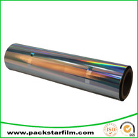 customized cheap rainbow hologram thermal lamination film