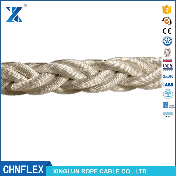 1.5 inch 4mm 20mm nylon braided rope