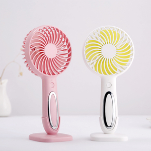 usb small cute hand fan electron rechargeable table fan with cheap price