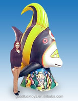 Giant10 Ft. Tall Inflatable yellow Angel Fish/Giant Inflatable Animals