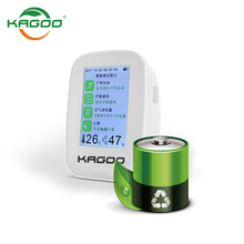 Portable co2 detector indoor air quality monitor with USB charging