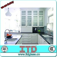 ITD-SF-MSK 010 frosted glass kitchen cabinet doors
