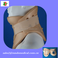 Surgical medical fission cervical neck collar head and neck immobilizer Support device