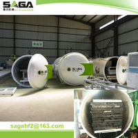 Newest timber drying machine with electric generator from SAGA
