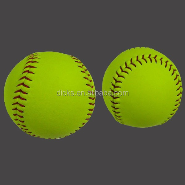 Hot Sale PU leather Softball with cheap price