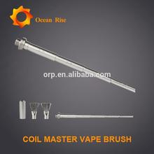 Stock offer Coil Master Vape Brush cleaning coil dirt with the bristles vape packaging for philippine