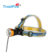 2016TrustFire new 3868 head front light waterproof 400LM battery pack headlight camping headlamp zoom CE,FCC,PSE certification