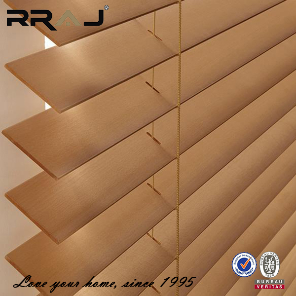 AIJIA Hot selling 2 inch slat wood blinds in China