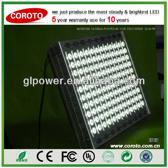 Wide lighting area 5 years guarantee economical LED flood light Light Emitting Diode