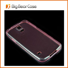 ultra thinTPU back cover for samsung s5/ i9600/ g900 mobile phone cover