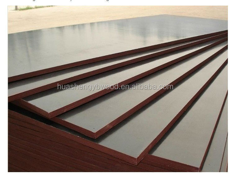 Whole sale price film faced shuttering plywood for concrete formwork