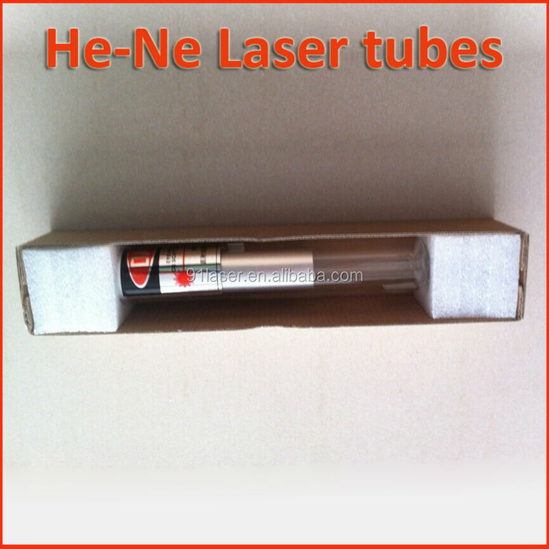HeNe laser tube 250x35mm TEM00, Output power>2mW (OLY-250/D)