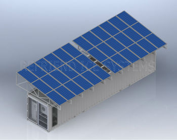 40ft Solar Power Container Cold Room