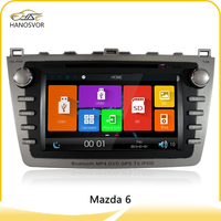 Touch screen for mazda 6 2 din 7 inch car dvd player