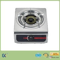 Hot Selling Stainless Steel Single Cast Iron Burner Gas Stove