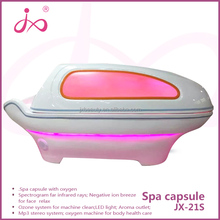 Ozone Sterilizer Slimming Capsule Photon 6 Lights 8 Pieces LED Therapy Far Infrared Sauna Spa Capsule