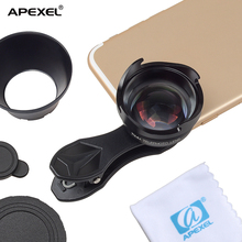 apexel clip camera android mobile extra phone detachable camera HD 2.5x telescope lens