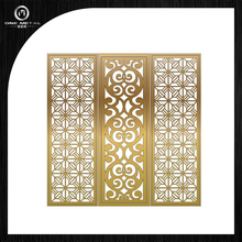 pretty decorative divider screen of house and building ONE METAL