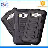Trendy fashion Rubberized Hard Shell Case Cover Belt Clip Holster Stand cheap phone cases for LG E400/L3